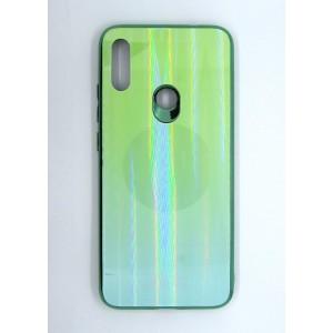 Силикон AURORA GLASS Xiaomi Redmi Note 7 (green)