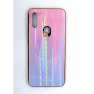 Силикон AURORA GLASS Xiaomi Redmi 7 (violet)