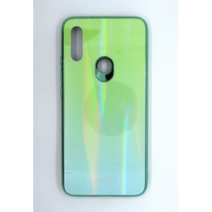 Силикон AURORA GLASS Xiaomi Redmi 7 (green)