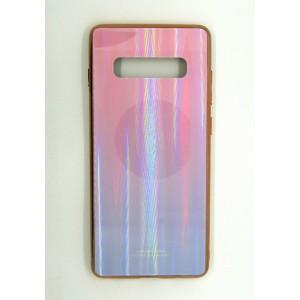 Силикон AURORA GLASS Samsung S10 plus(violet)