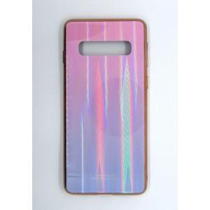 Силикон AURORA GLASS Samsung S10 (violet)