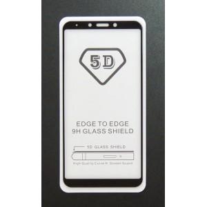 Стекло Samsung A6S 2018 5D (black)