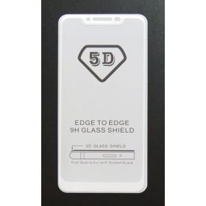 Стекло Xiaomi Redmi Note 6 PRO 5D (white)