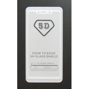 Стекло Xiaomi Redmi 8 SE 5D (white)