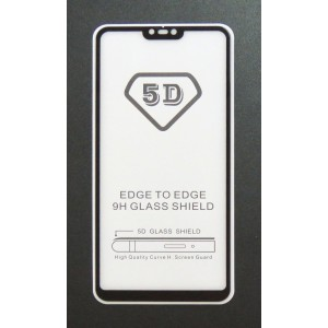 Стекло Xiaomi Redmi 8 Lite 5D (black)