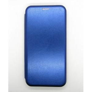 Чехол-книжка ориг кожа Xiaomi Redmi 8A (blue)