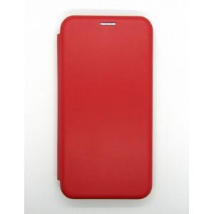 Чехол-книжка ориг кожа Xiaomi Redmi 8A (red)