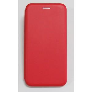 Чехол-книжка ориг кожа Samsung A50 (red)