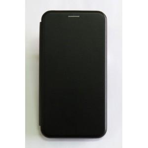 Чехол-книжка ориг кожа Samsung A40 (black)