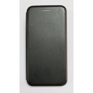 Чехол-книжка ориг кожа Samsung S10 (black)