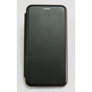 Чехол-книжка ориг кожа Samsung S10 plus (black)