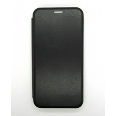 Чехол-книжка ориг кожа Xiaomi Redmi Note 6 (black)