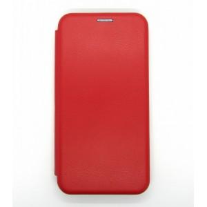 Чехол-книжка ориг кожа Xiaomi Redmi Note 8 PRO (red)