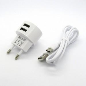 СЗУ Borofone + кабель Type-C BA23A (white)