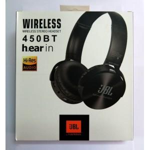 Hands Free JBL WIRELESS 450BT (black)