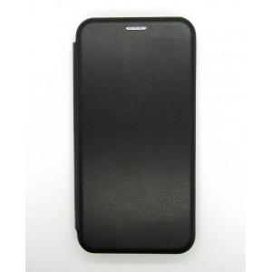 Чехол-книжка ориг кожа Samsung J2 core/J260 (black)