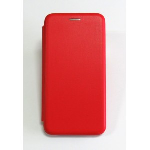 Чехол-книжка ориг кожа Samsung J2 core/J260 (red)