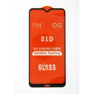 Стекло Xiaomi Redmi 8A 5D (black)