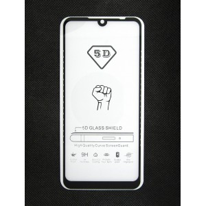 Стекло Xiaomi Redmi 7 5D (black)