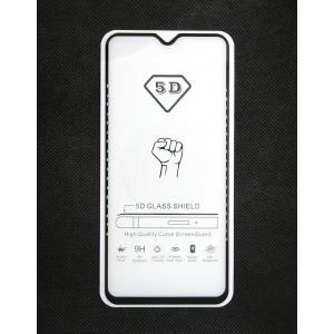 Стекло Samsung A50 5D (black)