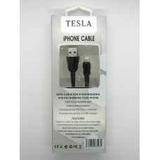 Data Cable Tesla iPhone5 (black)
