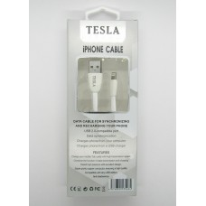 Data Cable Tesla iPhone5 (white)