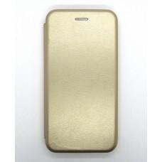 Чехол-книжка ориг кожа Xiaomi K20 (gold)