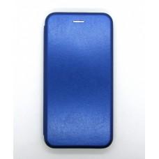 Чехол-книжка ориг кожа Xiaomi K20 (blue)