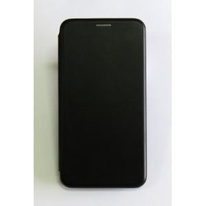 Чехол-книжка ориг кожа Xiaomi MI8 Lite (black)
