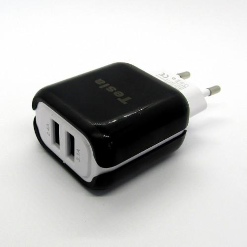 Сетевые зарядные устройства TESLA для мобильных телефонов оптом