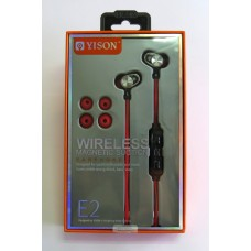 Hands Free YISON E2 bluetooth (red)