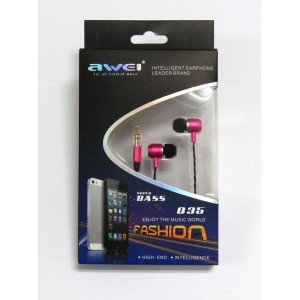 Hands Free Awei Q35 (pink)