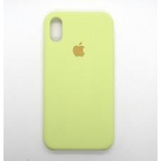 Silicone Case iPhone X/XS оригинал №51
