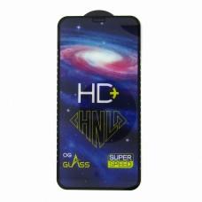 Стекло HD+ iPhone XR (black)