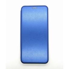 Чехол-книжка ориг кожа Xiaomi Redmi Note 9 (blue)