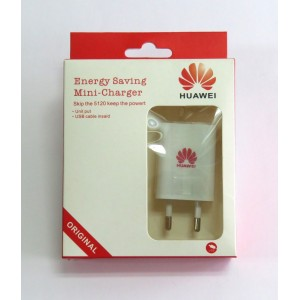 СЗУ блочек Huawei ориг+кабель (white)