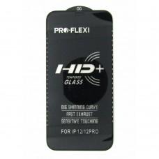Стекло Pro-Flexi HD iPhone 12/ 12 Pro (black)