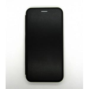 Чехол-книжка ориг кожа Samsung A10S/A107 (black)
