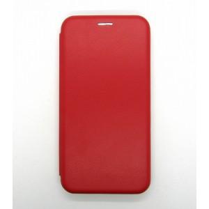 Чехол-книжка ориг кожа Samsung A10S/A107 (red)