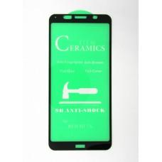 Стекло Ceramics Xiaomi Redmi 7A 9D (black)