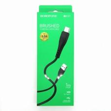 Data cable Borofone BX37 Type-C (black)