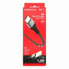 Data cable Borofone BU11 Type-C (black)