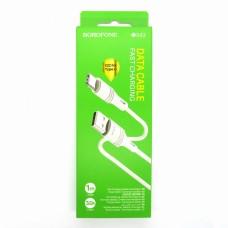 Data cable Borofone BX43 Type-C (white)