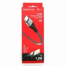 Data cable Borofone BU11 micro-USB (black)