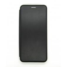 Чехол-книжка ориг кожа Xiaomi Mi10/10PRO (black)
