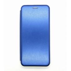 Чехол-книжка ориг кожа Xiaomi Mi10/10PRO (blue)