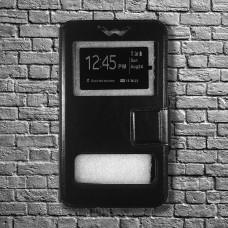 Чехол Универсальный 5,5 (откр. в бок) (black)