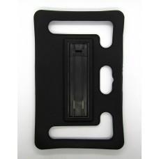 Чехол Универсальный на планшет 7 силикон (black)