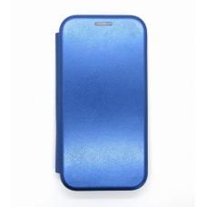 Чехол-книжка ориг кожа Samsung A01/A105 (blue)
