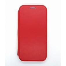 Чехол-книжка ориг кожа Samsung A01/A105 (red)